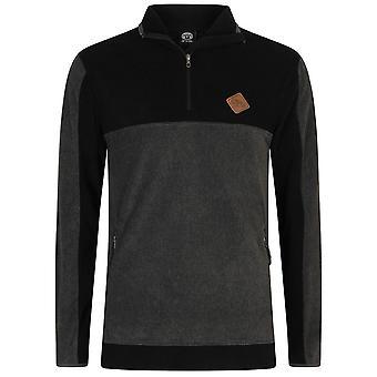 Tier Alpine Mid Layer Fleece in schwarz