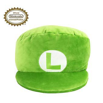 Nintendo - Luigi Plush 11inch Cap Cushion Green Gaming Merchandise