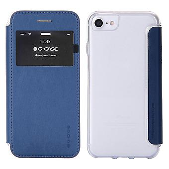 Case For iPhone 8 / IPhone 7 Blue Night With Window