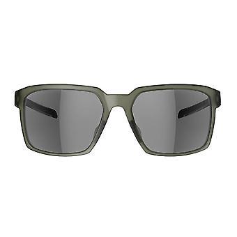 Adidas evolver SPX Frame sport solglasögon-oliv Matt-grå