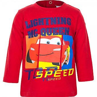 Auto's lange mouwen T-shirt - Topsnelheid 74 cm