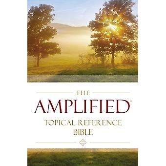 Amplified Topical Reference Bible Hardcover