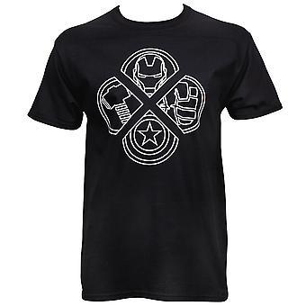 Avengers Logos T-Shirt