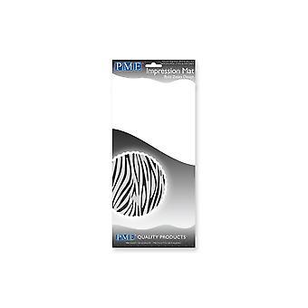 PME Bold Zebra Design Embossing Impression Mat