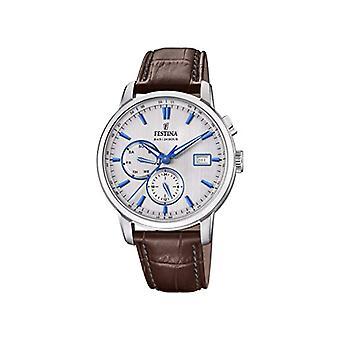 Festina horloge quartz chronograaf mannen horloge met lederen F20280/2