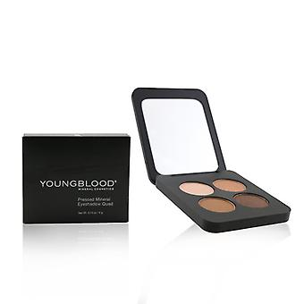 Youngblood Pressed Mineral Eyeshadow Quad - Sweet Talk 4g/0.14oz