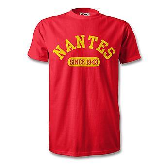 Nantes 1943 gegründet Fussball T-Shirt