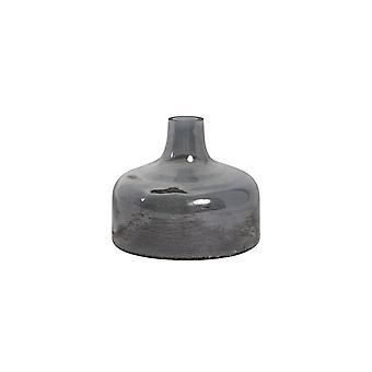Light & Living Vase 17.5x15cm Cabimas Glass Grey Luster