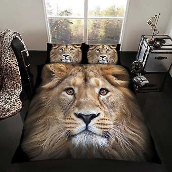 Lion Duvet Cover Bedding Set