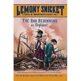 The Bad Beginning by Lemony Snicket - Brett Helquist - 9781417788408