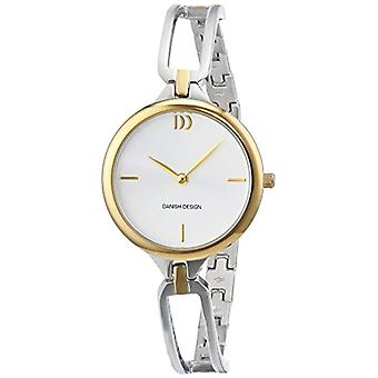 Woman watch stainless steel bracelet Quartz Analog display Multicolored Danish Design and a silver dial 3324587