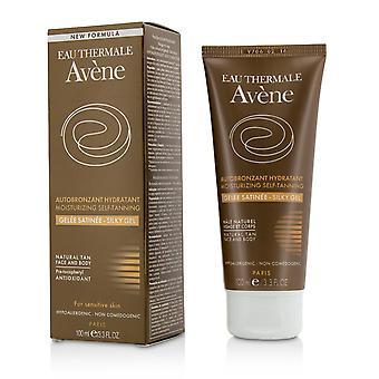Hydraterende zelfbruinende zijdeachtige gel voor gezicht en lichaam voor gevoelige huid 208449 100ml/3.3oz