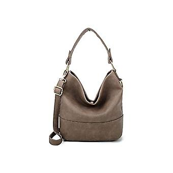 Fritzi aus Preussen Olga Medium - Brown Women's Shoulder Bags (Mud) 14x25.5x26.5 cm (W x H L)