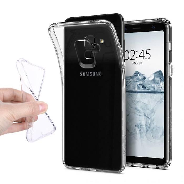 Stuff Certified® Transparent Clear Case Cover Silicone TPU Case Samsung Galaxy A8 2018