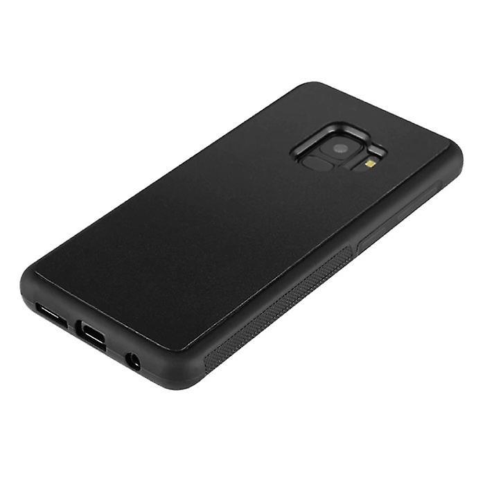 Stuff Certified® Samsung Galaxy S9 Plus - Anti Gravity Absorption Case Cover Cas Case Black