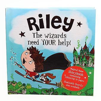 Geschichte & Heraldik magischen Namen Storybook - Riley