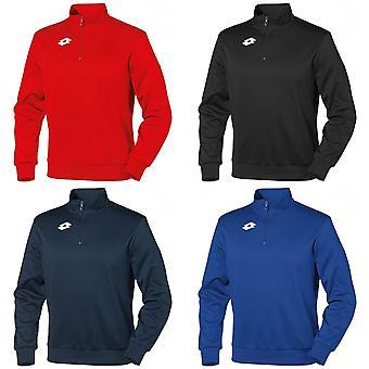 Lotto Childrens Boys Delta Half Zip Sweatshirt