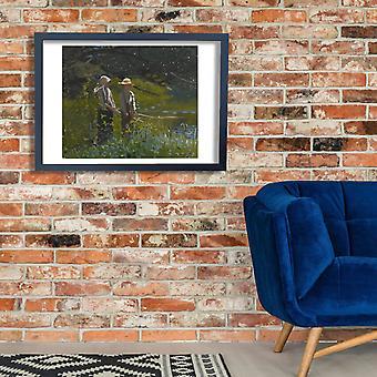Winslow Homer - Fishing (1878) Poster Print Giclee
