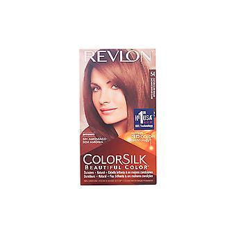 Revlon Gran Consumo Colorsilk Tinte #54-castaño Claro Dorado Für Frauen
