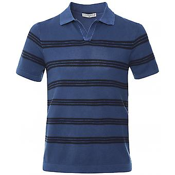 Circolo 1901 Knitted Striped Riviera Polo Shirt