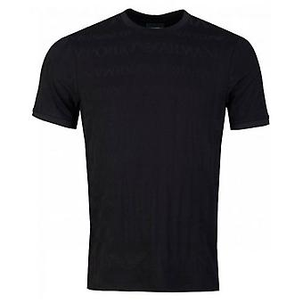 Armani Jaquard Logo T-Shirt