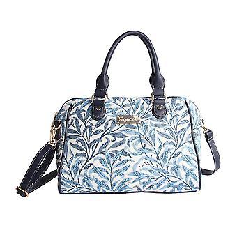وليام موريس الصفصاف غصن حقيبة الرماية | الأزهار الفن نسيج حقيبة يد | وعاء وow
