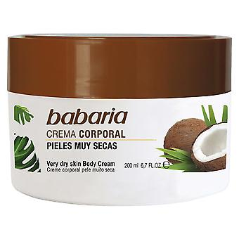 Babaria Coconut Body Cream 200 ml