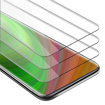 Cadorabo 3x Tank Film for OnePlus 7 PRO - Protective Film in KRISTALL KLAR - 3 Pack Tempered Display Protective Glass in 9H Hardness with 3D Touch Compatibility