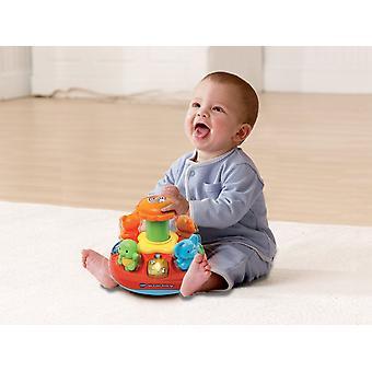 Vtech Baby Push og spille Spinning Top Legetøj