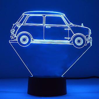 1964 mini Side profil färg SKIFT ande LED mini akryl ljus