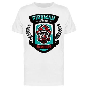, Fireman, Rescue Team Tee Men's -Image by Shutterstock