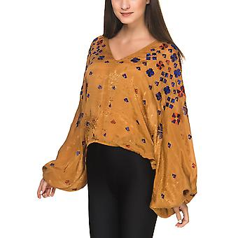 Free People Women's Embroidered Top