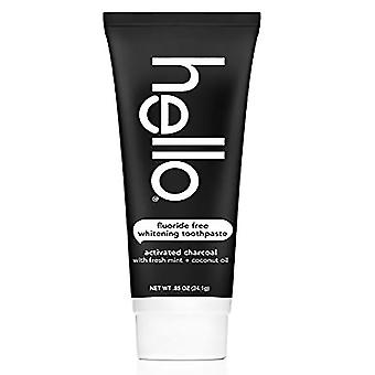 Hello oral care activated charcoal teeth whitening toothpaste, 4 oz