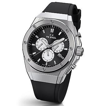 TW Steel CE4041 CEO TECH chronograph watch 44 mm