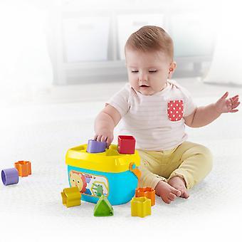Korb mit Bausteinen Mattel 10 Stück (6+ Monate)