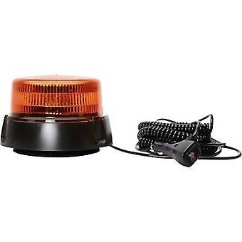 WAS Emergency light W112 852.2 12 V, 24 V via in-car outlet Suction cup, Screw mount, Magnetic fastening Orange