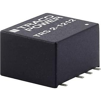 TracoPower TRS 2-4823 DC/DC converter (SMD) 67 mA 2 W No. of outputs: 2 x