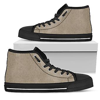 Vysoké boty | Khaki (Černý)