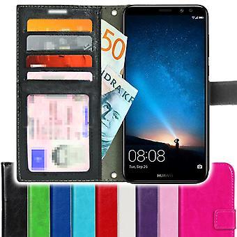 TOP SLIM Huawei Mate 10 Pro wallet Case 4PCS Card