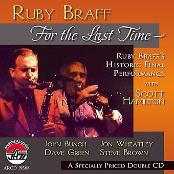 Ruby Braff - For the Last Time [CD] USA import