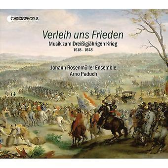 Schutz / Paduch - Verleih Uns Frieden / Music for Thirty Years War [CD] USA import