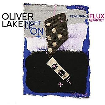 Lake, Oliver Feat. Flux Quartet - Right Up on [CD] USA import