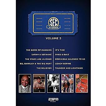 ESPN Films 30 for 30 - Sec Storied 3 [DVD] USA import