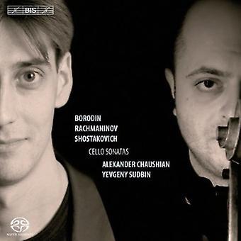 Rachmaninov/Borodin/Shostakovich - Borodin, Rachmaninov, Shostakovich: Cello Sonatas [SACD] USA import