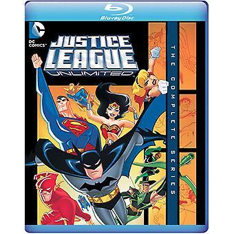 Liga da justiça sem limites: A série completa [Blu-ray] EUA importar
