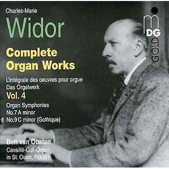 C.M. Widor - Widor: Complete Organ Works Vol. 4 [CD] USA import