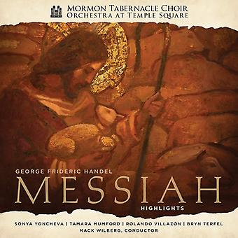 Mormon Tabernacle Choir / Orchestra Temple Square - Handel's Messiah - Highlights [CD] USA import