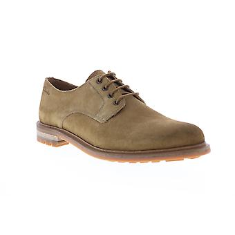 Clarks Foxwell Hall Mens Brown Oxfords & Lace Ups Plain Toe Schuhe