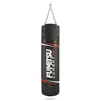 Fumetsu Charge 4ft Punch Bag Black/White/Red