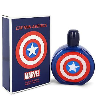 Captain America by Marvel Eau De Toilette Spray 3.4 oz / 100 ml (Men)